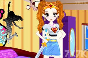 《森迪COS女英雄》游戏画面3