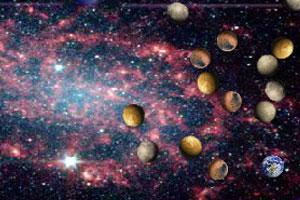 《行星台球》游戏画面1