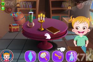 《可爱宝贝魔术表演》游戏画面2