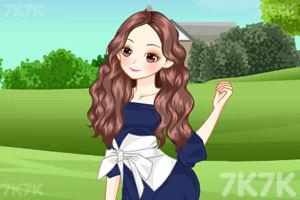 《草坪上的女孩》截图1
