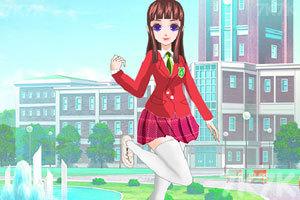《漂亮校服女生》截图3
