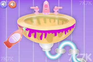 《浴室的清洁》游戏画面4