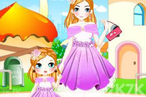《米雪的母女装》游戏画面1