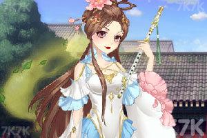 《古风少女的华丽装扮》游戏画面3