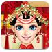 喜庆的中国新娘