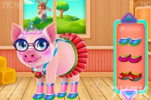 《小猪温泉度假村》游戏画面2