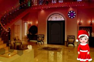 《救援圣诞小女孩》游戏画面1
