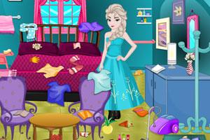 艾莎的卧室清洁