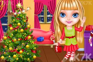 《和宝贝一起过圣诞》游戏画面3