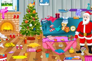 《圣诞老人大扫除》游戏画面1
