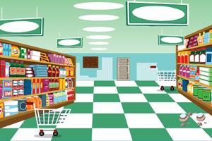 《逃离大超市》游戏画面1