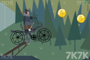 《自行车越野赛》游戏画面1