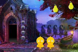 《可爱女孩逃出城堡》游戏画面1