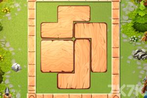 《木质拼图》游戏画面2