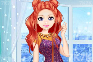 《时尚奥莉的甜美秋装》游戏画面3