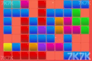 《五彩方块大消除》游戏画面1