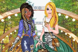 《酷爱豹纹的女孩》游戏画面1