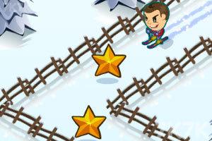 《滑雪挑战》游戏画面1