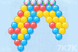 《颜料球泡泡龙》游戏画面2