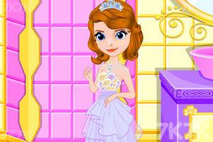 《索菲亚的新礼服》游戏画面2