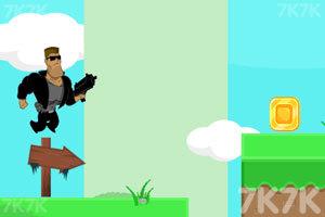 《勇敢者的攻击》游戏画面1