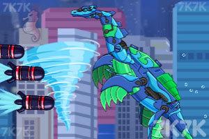 《组装机械深海鱼龙》游戏画面2