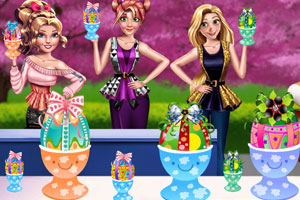 《女孩们的节日彩蛋》游戏画面1
