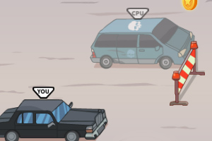 《汽车驾驶大赛》游戏画面1