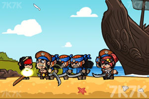 《诅咒之海》游戏画面3