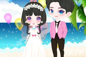 《海滩的浪漫婚礼》游戏画面2