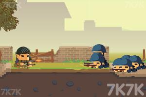 《战争前线部队》游戏画面1