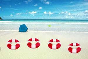 《夏日热带海滩逃脱》游戏画面1