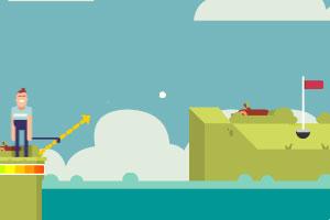 《高尔夫球之战》游戏画面1