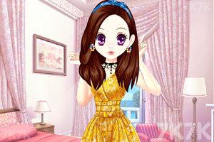 《森迪公主的可爱装扮》截图1