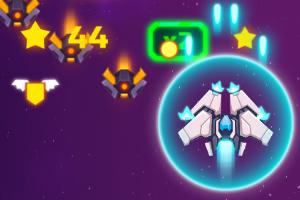 《宇宙火焰无敌版》游戏画面1
