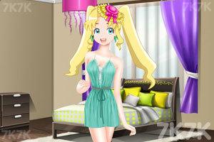 《彩丽公主日常装扮》游戏画面2