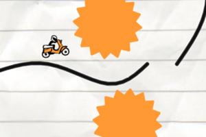 《火柴人骑摩托无敌版》游戏画面1