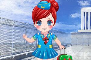《美丽小空姐》游戏画面3