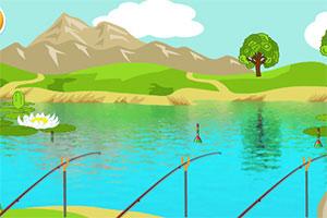 《休闲钓鱼》游戏画面1