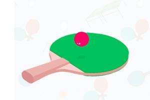 《乒乓球挑战大赛》游戏画面1