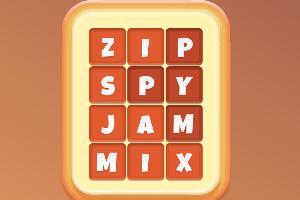《英文拼图》游戏画面1