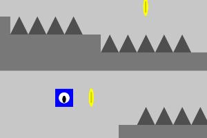 《蓝色方块的冒险》游戏画面1