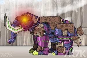 《组装机械长毛象》游戏画面2