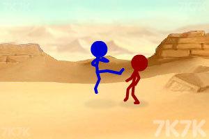 《火柴人街霸2.0荒原之战》截图3