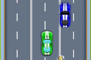 《小汽车竞速赛》游戏画面1