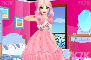 《美丽公主的晚礼服》游戏画面1