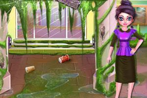 《妈咪办公室清洁》游戏画面1