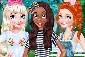 《公主的苏玛丽发型》游戏画面1