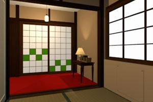 《逃出日式房屋14》游戏画面1