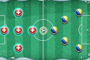 《冬季足球赛》游戏画面1
